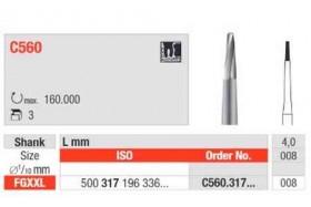 Fraises C560.008 EDENTA (x3)